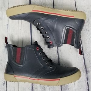 WIND RIVER | rubber lace-up duck boots